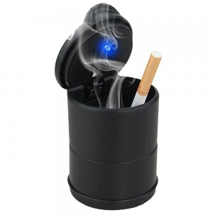 Car Cup Holder Ashtray-Black
