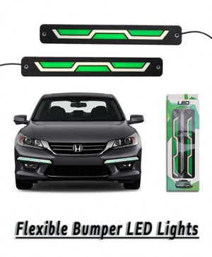 Universal Fender LED Light - Green&White