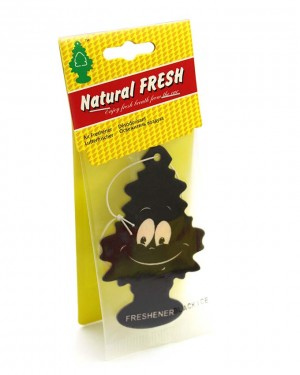 Tree car air freshener Black