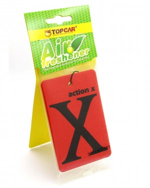 X car air freshener Red