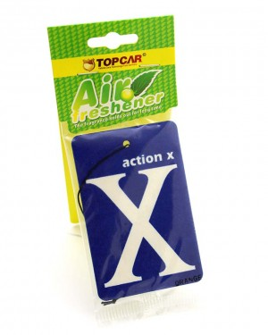 X car air freshener Purple