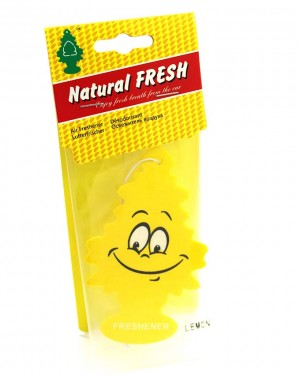 Tree car air freshener Yellow