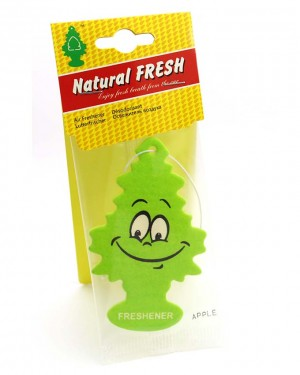 Tree car air freshener Green