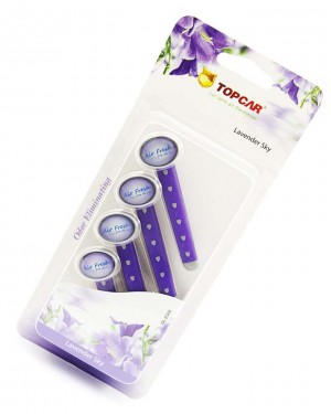 car pefume stick air freshener Purple