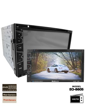 Universal DVD Player - Earth One EO-8605