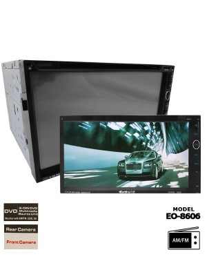 Universal DVD Player - Earth One EO-8606