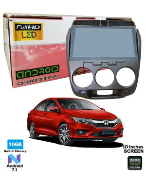 Honda City Android TAblet - SLM Black