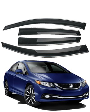 Honda Civic Air Press with Chrome Plate