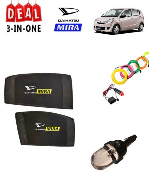 Pack of 3 - Accessories for Daihatsu Mira - Multicolor # Deal 117