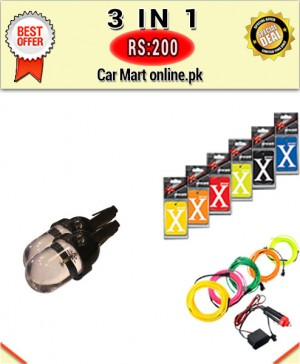 Rs:200 # Deal 3 # 3 in 1 # For All Cars