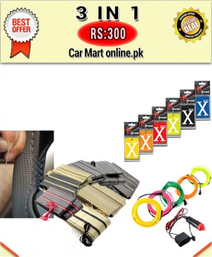 Rs:300 # Deal 7 # 3 in 1 # For All Cars