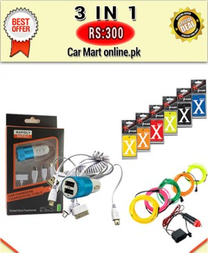 Rs:300 # Deal 5 # 3 in 1 # For All Cars