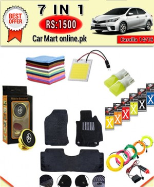 Rs:1500 #Deal-15 # 7 in1 #For Toyota Corolla 14/16 Models