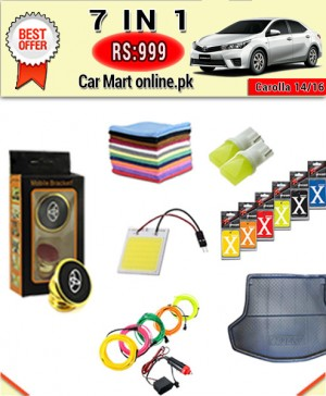 Rs:999 #Deal-14 # 7 in1 #For Toyota Corolla 14/16 Models