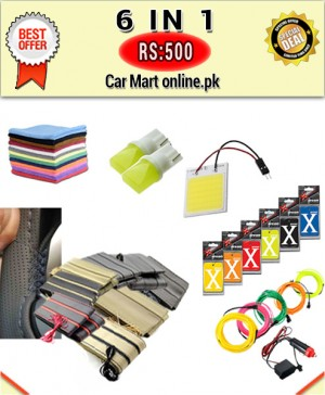 Rs:500 # Deal 11 # 6 in 1 # For All Cars