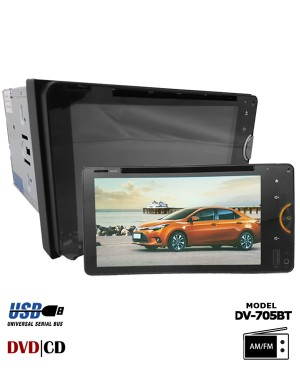 Collar DVD Player - Dellson DV-705BT