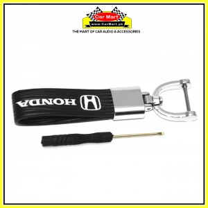 Honda Rubber Keychain with Screw Driver - High quality creative design Honda Rubber Keychain with Screw Driver
