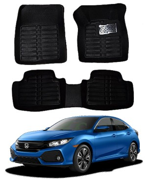 Honda Civic 5D Floor Mats Black