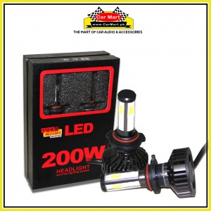 Toko Michi 200w Auto Led Headlight Lightning System - 9005
