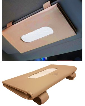 Toyota Sun Shade Tissue Box Beige