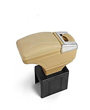Universal Arm Rest 6 USB Beige Chrome