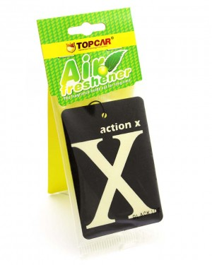 X car air freshener Black