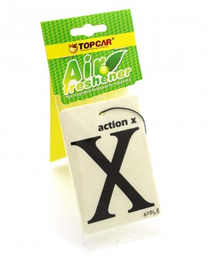 X car air freshener White