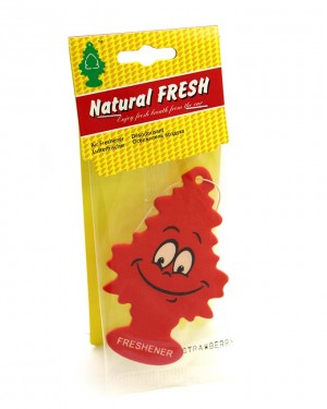 Tree car air freshener Red
