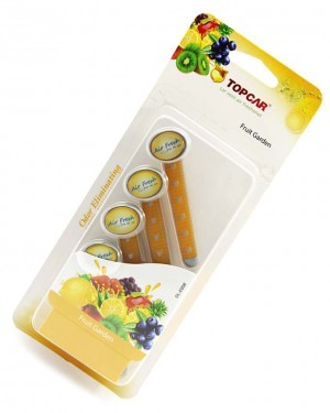 car pefume stick air freshener Yellow
