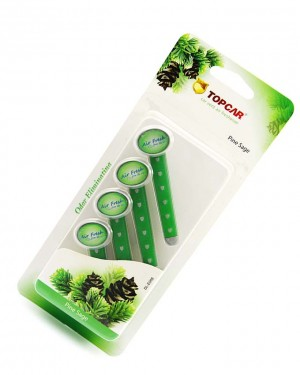 car pefume stick air freshener Dark Green
