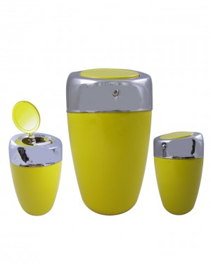 Car Dashboard / Office Tabel - Ashtray - Yellow