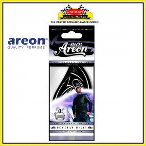 Dry Air Freshener Perfume Card - Silver Sport Lux - Areon