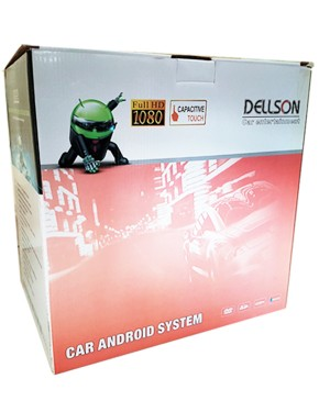 Honda City Android Tablet - BG Silver
