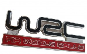 Front grill metal sticker