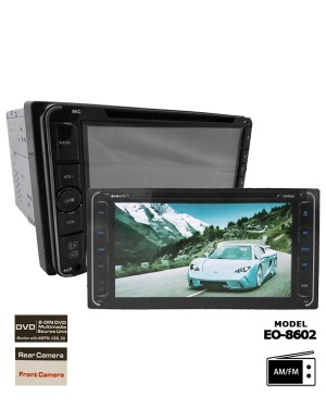 Collar DVD Player - Earth One EO-8602