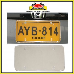 Acrylic Crystal Transparent Power Number Plate Frame - Acrylic Crystal Transparent License Plate frame