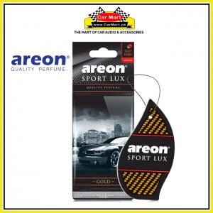 Dry Air Freshener Perfume Card - Gold Sport Lux - Areon