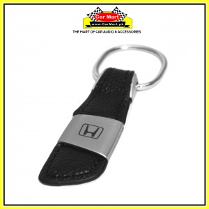 Honda Leather Keychain - High quality creative design Honda Leather Keychain