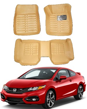 Honda Civic 5D Floor Mats Beige