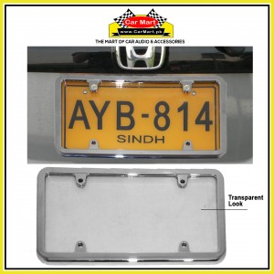 Chrome Number Plate Frame - Chrome License Plate frame