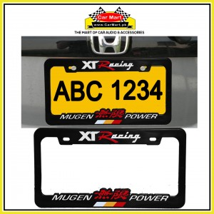 XT Racing Mugen Power Number Plate Frame - XT Racing Mugen Power License Plate frame