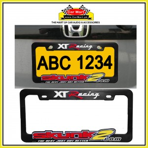 XT Racing Skunk 2 Number Plate Frame - XT Racing Skunk 2 License Plate frame