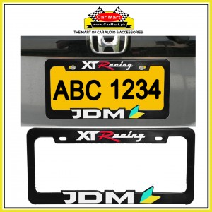 XT Racing JDM Number Plate Frame - XT Racing JDM License Plate frame