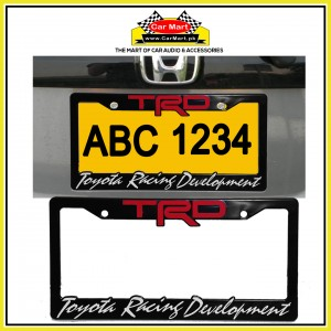 TRD Toyota Racing Development Number Plate Frame - TRD Toyota Racing Development License Plate frame