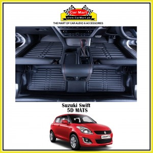 Suzuki Swift 5D Floor mats - Black
