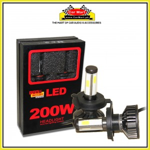 Toko Michi 200w Auto Led Headlight Lightning System - H4