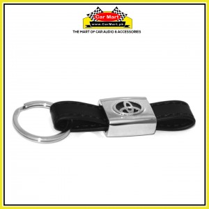 Toyota Metalic + Leather Keychain - High quality creative design Toyota Metalic + Leather Keychain