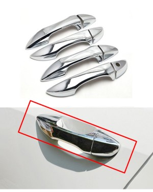 Toyota Corolla 2014-2018 Full Handle Chrome