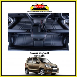 Suzuki Wagon-R 5D Floor Mats - Black
