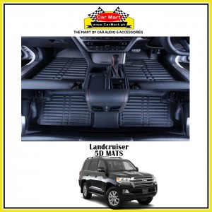 Land Cruiser 5D Floor Mats - Black